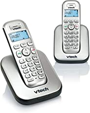 Vtech 2 Handset Digital Cordless Phone with Caller ID/Call Waiting - Silver []ES1210-2