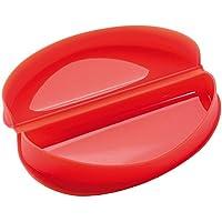 Lékué - Recipiente para cocinar tortillas francesas en microondas, color rojo