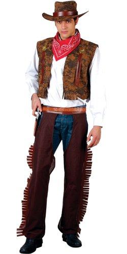 Imagen de wild  disfraz de vaquero del oeste para hombre, talla l em 3038. l  alternativa