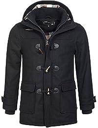 INDICODE Hommes Veste Caban Jacket Trench Hommme Coat Trenchcoat Irvin Homme Manteaux Tricotée S M L XL XXL