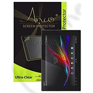 Anco Screen Protector Ultra Clear for Sony Xperia Tablet Z