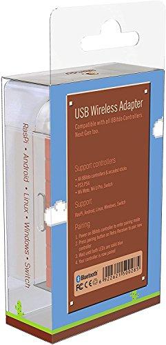 8Bitdo Wireless Bluetooth Adapter for Windows  Mac  Raspberry Pi & Nintendo Switch