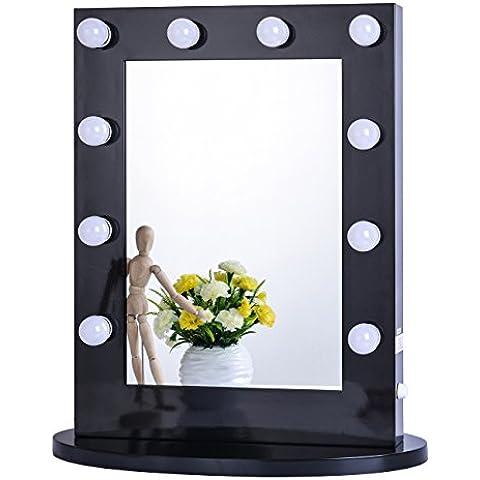 Hollywood Vanità Specchio Per Il Trucco con Luce Specchio Regolabile Stadio di bellezza