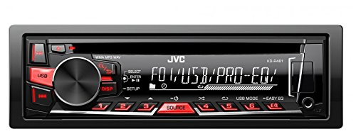 1dd884751 Jvc 4975769425417 Kd R461 Cd Mp3 Car Stereo With Usb Aux- Price in India