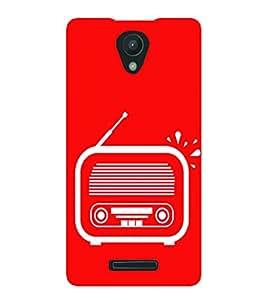 PrintVisa Radio Clipart 3D Hard Polycarbonate Designer Back Case Cover for Xiaomi Redmi 3s :: Xiaomi Redmi 3s Prime