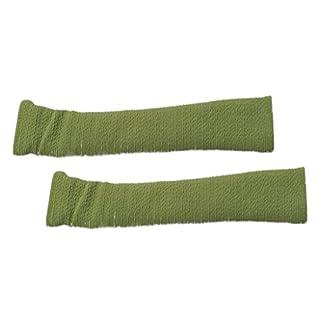 MagiDeal 1 Paar Armlehnen Polster für Bürostuhl Schreibtischstuhl, Armlehnen Kissen für Ellenbogen - Grün