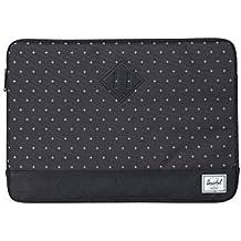 Herschel Heritage Sleeve for Macbook Black Gridlock/Black Synthetic Leather - 13''