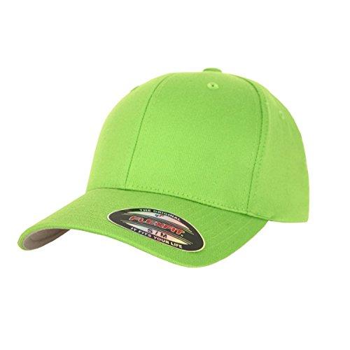 flexfit-blanko-cap-fresh-green-mutze-kappe-schirmmutze-s-m
