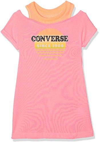 Converse Mädchen Kleid Sail Into Sun Dress, (Pink Glow A88), 14-15 Jahre (Kleider Und Converse)