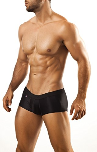 Joe Snyder Boxer Xpression XPS01 (S, Schwarz) (Boxer Joe Boxer Briefs)