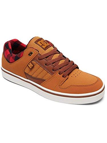 DC Shoes Course 2 Se M Shoe, Sneakers Basses Homme Marron - Wheat/Black/Dk Chocolate