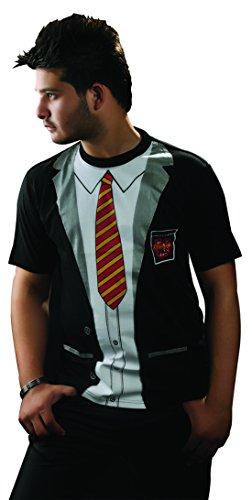 Erwachsene Herren Bedruckt T-Shirts Uniform Kostüm Hen Night Junggesellen Party Fancy Dress Vielzahl von Designs (klein, School Boy)