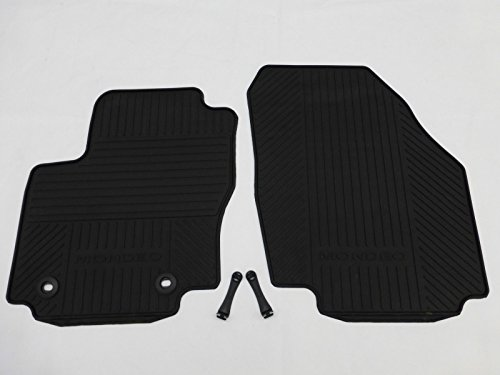 $$$ Fußmatten für Ford Mondeo IV BA7 Befestigungen NEU Rand ROT // SCHWARZ