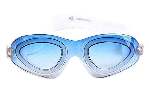 Universal-HD UV Water Fog Schwimmbrille 2 --- Blau