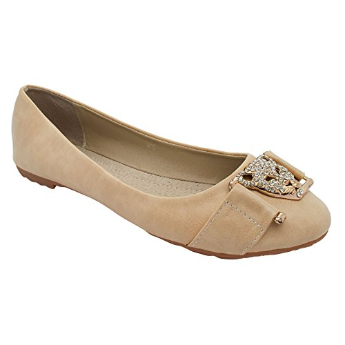 London Footwear - Ballet donna Beige