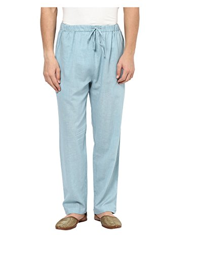 Yepme Men's Blue Cotton Pajama - YPMPJM0010_S  available at amazon for Rs.239
