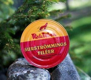 Röda Ulven Surströmming Filets 300 g - fermentierte Heringfilets (1x300g)