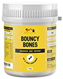 Bouncy Bones Complete Joint Supplements For Dogs - Ten Key Dog Vitamins And Supplements Including Glucosamine For Improved Mobility, Pain Relief & Joint Support (Up to 175, 1 scoop servings)