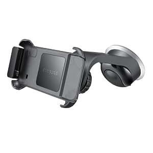 Samsung Original KFZ-Halterung inkl. Ladegerät/Gerätehalter und Saugfuß ECS-V968BEGSTD (kompatibel mit Galaxy S i9000 und i9001) in schwarz