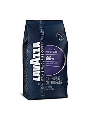 Lavazza Gran Riserva Espresso Whole Bean Coffee, 2.2-Pound Bag by Lavazza