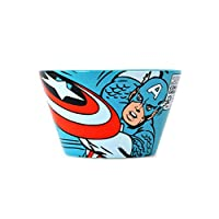 Horror-Shop Captain America Retro Cereal Bowl
