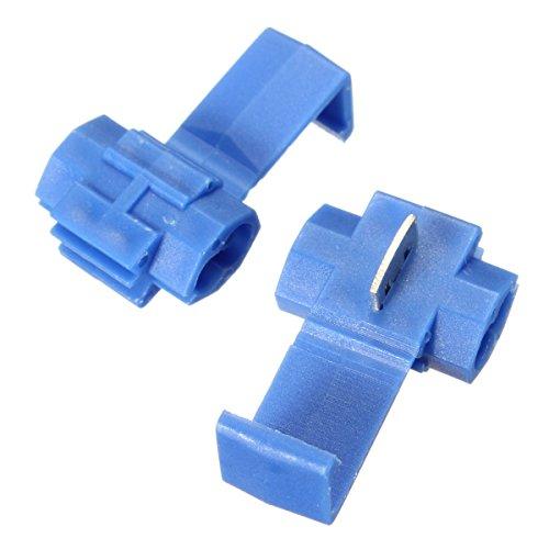 RanDal 100Pcs Blue Scotch Lock Quick Splice Wire Connector Terminals -