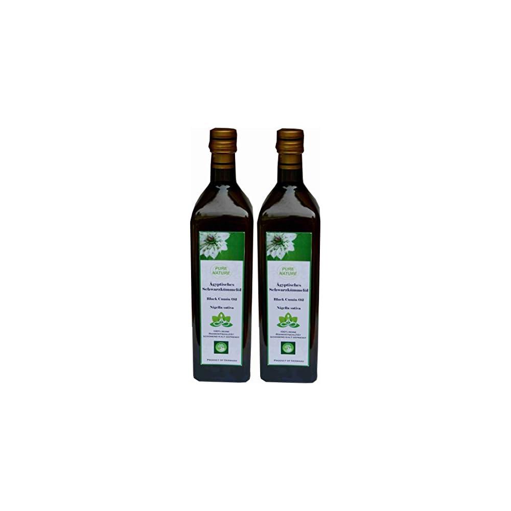 Schwarzkmmell Pure Nature 2 X 1000 Ml Gefiltert Einfhrungspreis