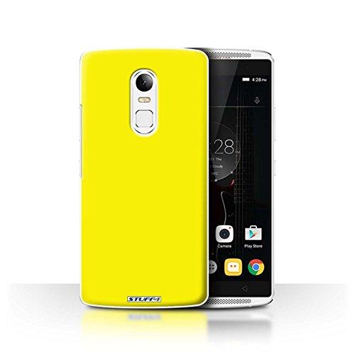 Stuff4 Hülle / Case für Lenovo Vibe X3 / Gelb Muster / Farben Kollektion