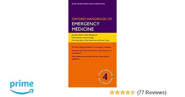 Oxford Handbook of Emergency Medicine 4/e (Flexicover