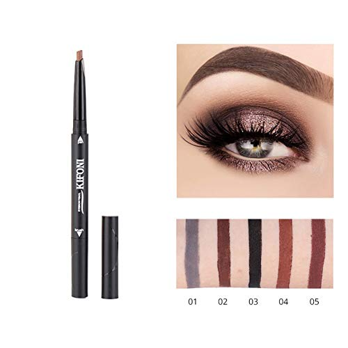 OYOTRIC Automatic Retractable Brow Pen Colour Makeup Cosmetic Tool, Waterproof Eyebrow Pencil with...