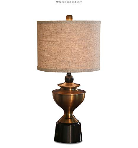 Lámparas de mesa de dormitorio antiguas europeas Lámparas de mesa ...