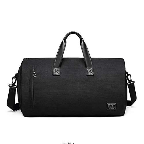 Gepäcktasche, trockene und nasse Trennung Reisetasche Business-Anti-Falten-Anzug Tasche One-Shoulder-Multifunktions-Outdoor-Fitness-Tasche geeignet für Männer und Frauen zu reisen Fitness Geschäf