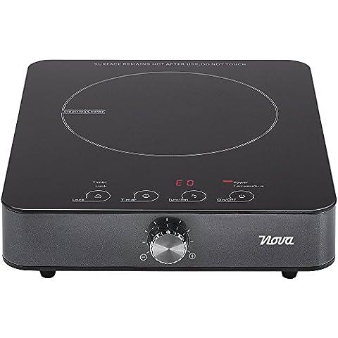 Nova 02.300400.01.001 - Placa de inducción, control de pantalla táctil