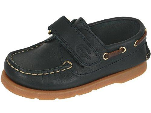Gallucci , Chaussures bateau pour garçon Blau (boston 549)