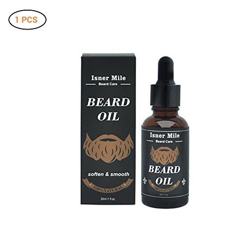 Aceite para barba orgánico, cuidado de barba para hombres, aceite hidratante para barba - Favorece el cuidado de la barba 30 ml.