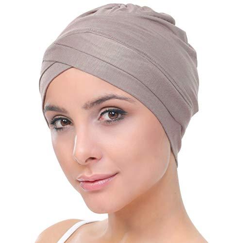 Deresina W Baumwollmütze für Chemo (Mink)