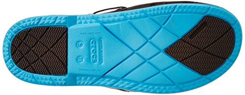 Crocs Beach Line, Sabots mixte adulte Marron (Espresso/Electric Blue)