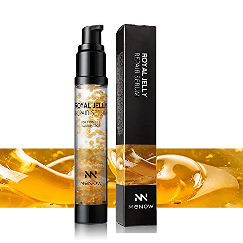 Xiton Makeup Primer Royal Honig Serum Facial Moisturizer 1 Flasche Premium-Makeup Primer Essence Natürliche Honig Jelly Repair Serum Makeup Primer Moisturizing Foundation Primer - Honig - Retinol Vitamin A Facial Moisturizer