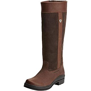 Ariat Windermere Womens Boots WIDE FIT - Dark Brown: Adults 6
