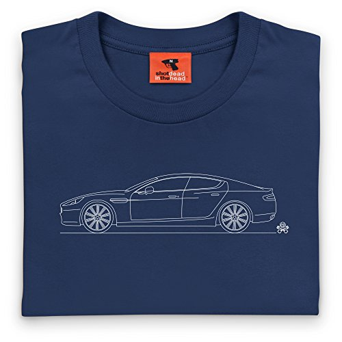 PistonHeads Rapide T-Shirt, Damen Dunkelblau