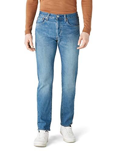 Levis® Herren Jeans 501® - Original Fit - Blau - Penne, Größe:W 33 L 32, Farbe:Penne (2640) -