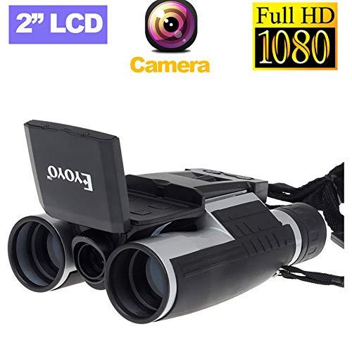 WLDOCA Videocámara LCD de 1080P HD Telescopio de cámara Digital Binocular DV, monocular de visión Nocturna con Prisma Duradero y Claro para observación de Aves, Camping, Senderismo, Partido