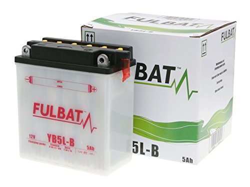 Batterie Fulbat YB5L-B für Hercules RX-9 80 LC Bj. 1982-1988 inkl. 7,50 EUR Batteriepfand