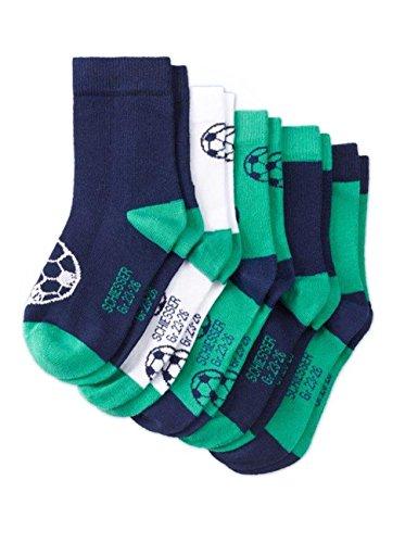 Schiesser Jungen Socken Kindersocken (5PACK), 5er Pack, Mehrfarbig (Sortiert 1 901), 27-30