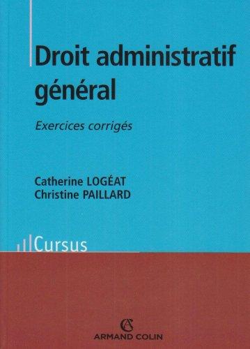 Droit administratif général : Exercices corrigés