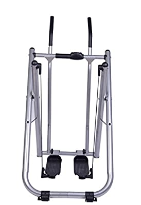 Homcom Air Walker Exercise Machine Folding Strider Legs and Thigh Exercise Toner Cross Trainer Workout Power Machine w/ a Monitor from Sold by MHSTAR