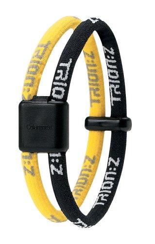 Trion: Z Dual Loop Braccialetto Magnetic Ioni di magnetica TrionZ taglia S nero giallo