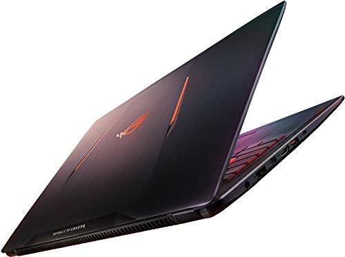 "Asus ROG GL502VM-FY187T Portatile, Display 15.6"" Full HD, Intel Core i7-7700HQ, RAM 16 GB, Scheda Video nVIDIA GTX1060M 6 GB DDR5, HDD 1 TB e 128 GB SSD, Titanium Gold"