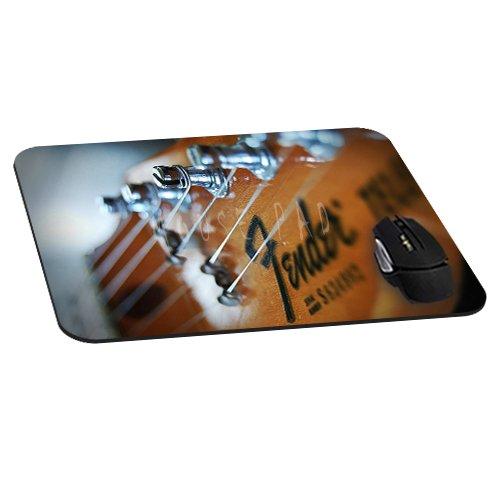Büro Rechteck Maus Pad mit Fender Gitarre Bild Tuch, rutschfestem Gummi backing-gaming Mousepad (22,1x 18x 0,3cm) (Bilder Fender)