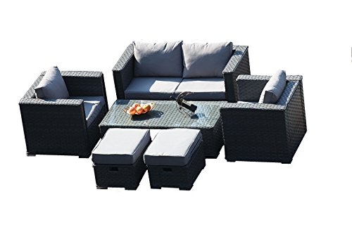 Winning Sheng Yang  Search Furniture With Exciting Yakoe   Monaco  Seater Rattan Garden Furniture Patio Conservatory  Sofa Set With Coffee Table Chairs And Stools  Grey With Comely Gardening Trousers Also Marshalls Cycles Welwyn Garden City In Addition Garden Spa Kingston Reviews And Kew Gardens Tea As Well As Royal Garden Resort Address Additionally Covent Garden Dirty Martini From Searchfurniturecouk With   Exciting Sheng Yang  Search Furniture With Comely Yakoe   Monaco  Seater Rattan Garden Furniture Patio Conservatory  Sofa Set With Coffee Table Chairs And Stools  Grey And Winning Gardening Trousers Also Marshalls Cycles Welwyn Garden City In Addition Garden Spa Kingston Reviews From Searchfurniturecouk